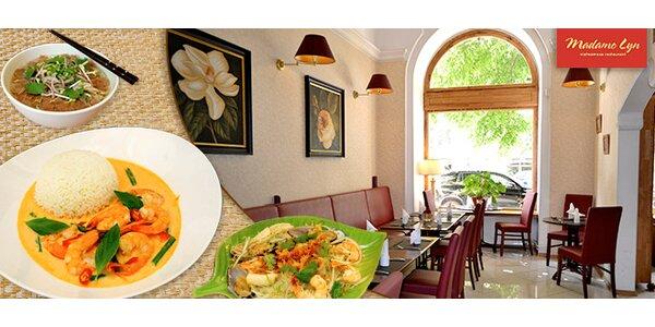 Otevřený poukaz na jídlo do vietnamské restaurace