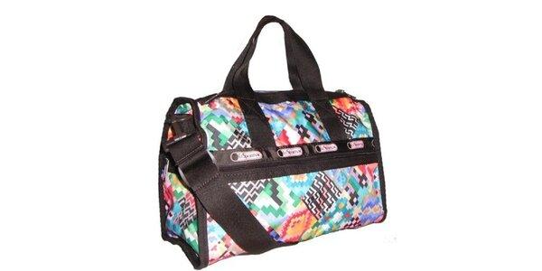 Barevná víkendová taška LeSportsac