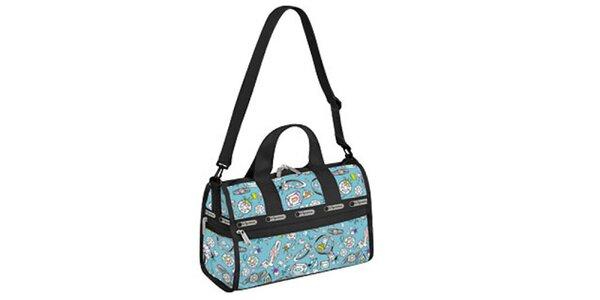 Modrá víkendová taška LeSportsac