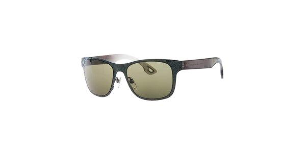 Dámské šedo-hnědé sluneční brýle Diesel