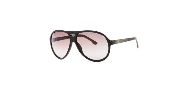 Pánské retro khaki sluneční brýle Diesel