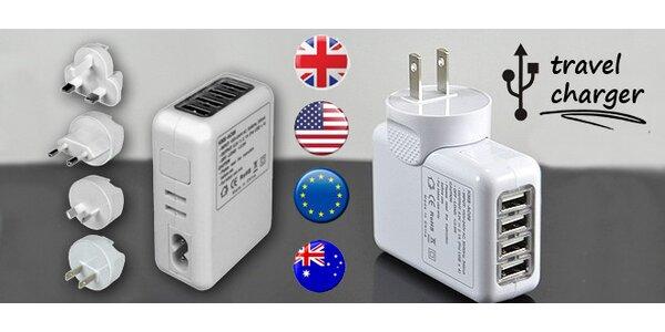 Cestovní USB adaptér - nabijte kdekoli cokoli