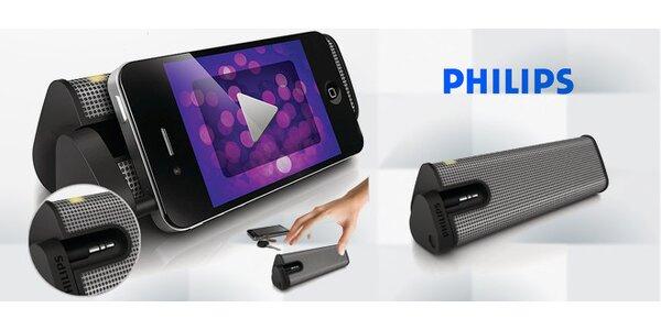 Přenosný reproduktor Philips pro dynamický zvuk kdekoli