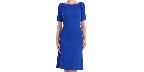 Dámské sytě modré šaty Yuliya Babich
