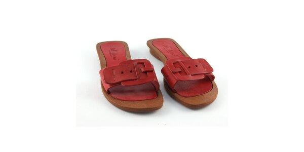 Dámské červené pantofle La Bellatrix