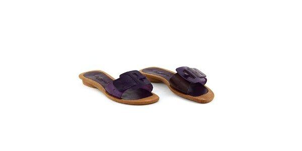 Dámské fialové pantofle La Bellatrix