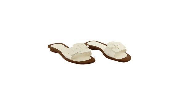 Dámské bílé pantofle La Bellatrix