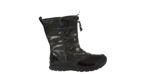 Dámské černé zimní boty Columbia