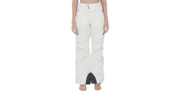 Dámské bílé lyžařské kalhoty Columbia s membránou