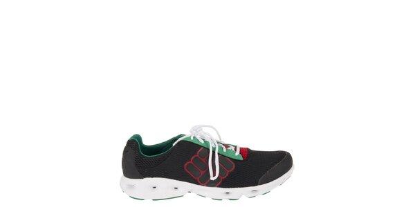 Pánská černá běžecká obuv Columbia