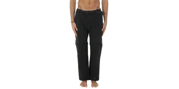 Pánské černé sportovní kalhoty Columbia s odepínacími nohavicemi