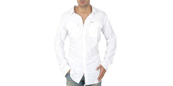 Pánské bílá sportovní košile Columbia