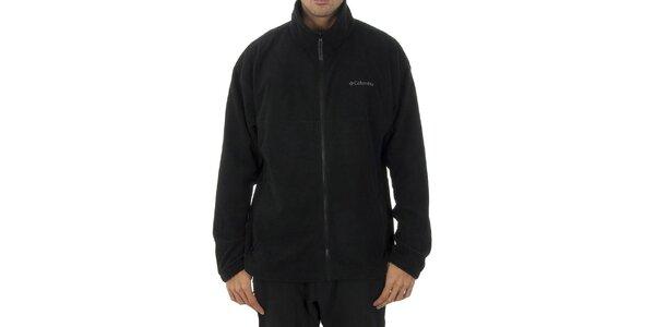 Pánská černá fleecová mikina Columbia
