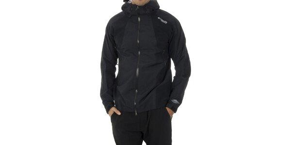 Pánská černá softshellová bunda Columbia