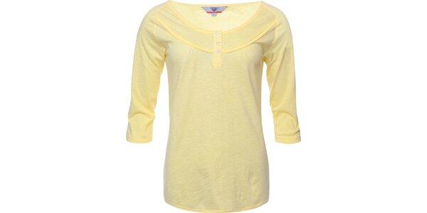 Dámské světle žluté tričko Bushman