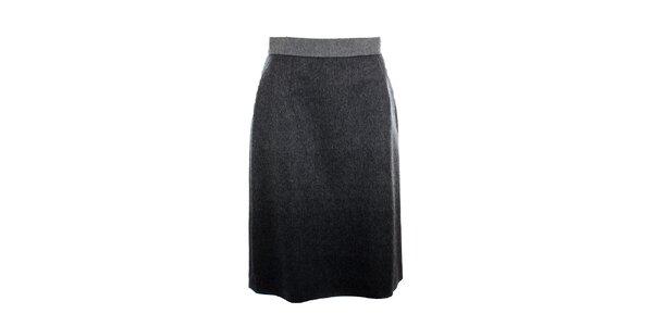 Dámská šedá sukně Max Mara