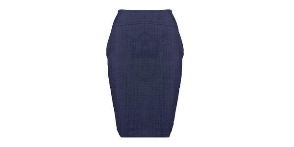 Dámská modrá pouzdrová sukně Pietro Filipi