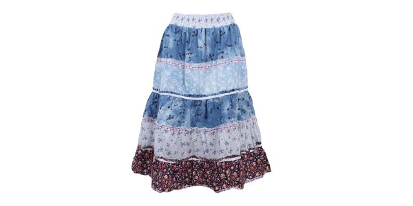 Dámská sukně v modrých odstínech Dislay DY Design