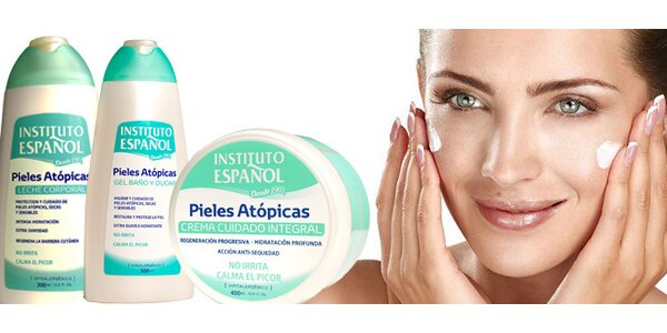 Kosmetika pro atopickou, citlivou a velmi suchou pokožku