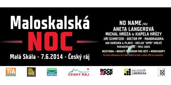 Vstupenka na festival Maloskalská noc