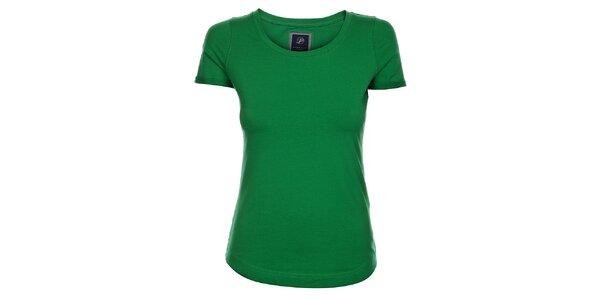 Dámské trávově zelené tričko Pietro Filipi s krátkým rukávem