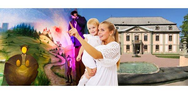 Vstupné pro dva nebo rodinu na zámek Potštejn