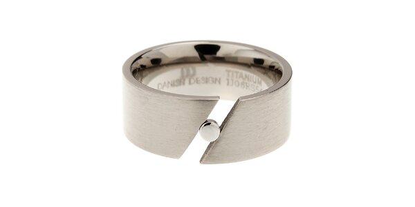 Dámský titanový prsten Danish Design