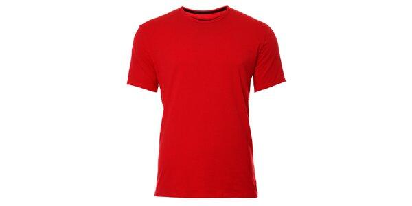 Pánské červené podvlékací tričko Calvin Klein