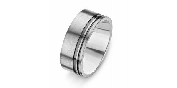 Dámský titanový prsten Danish Design s proužky