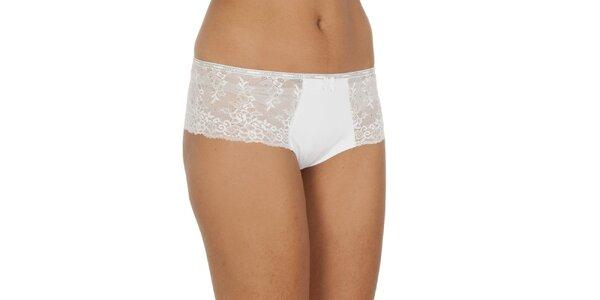 Dámské bílé nohavičkové kalhotky Tommy Hilfiger