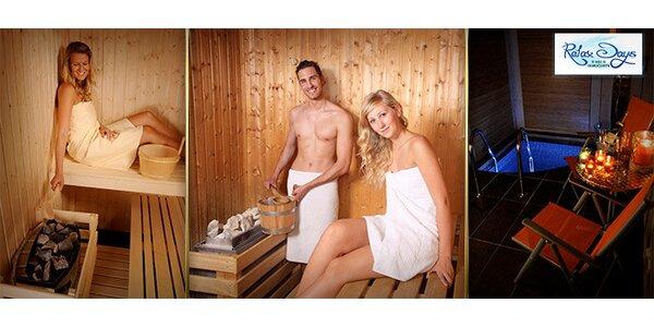 Privátní sauna pro 2 osoby na 130 minut