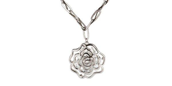 Dámský náhrdelník s růžičkou Fifi Ange