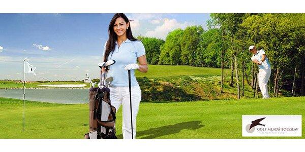 2hodinový golfový kurz pro začátečníky s trenérem
