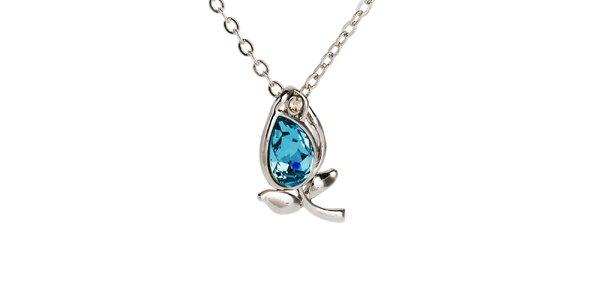 Dámský náhrdelník s lístečky Fifi Ange