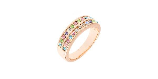 Dámský prstýnek s barevnými kamínky Fifi Ange
