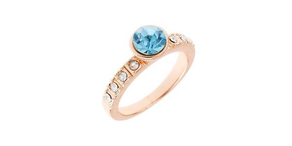 Dámský prstýnek s modrým krystalem Fifi Ange