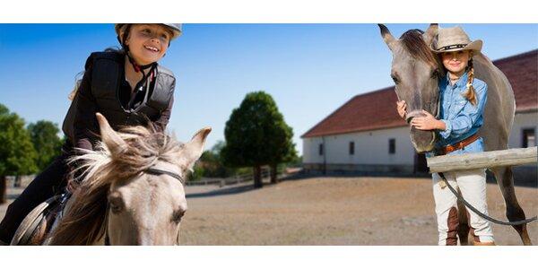 Letní příměstský tábor s koňmi na Šťastném ranči nedaleko Prahy
