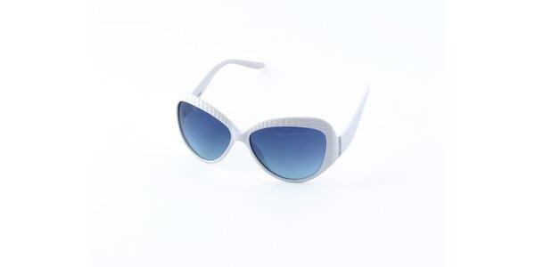 Dámské bílé sluneční brýle Guess