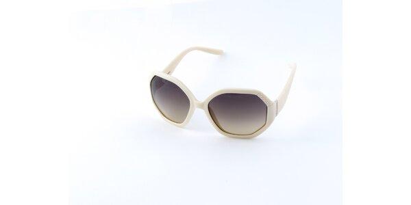 Dámské krémové brýle Guess