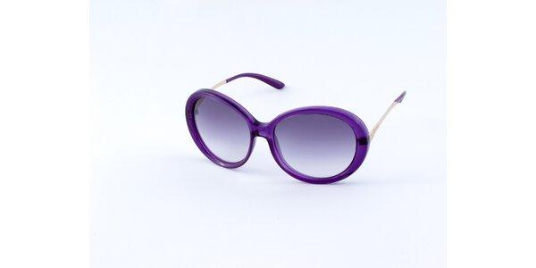 Dámské purpurové sluneční brýle Guess