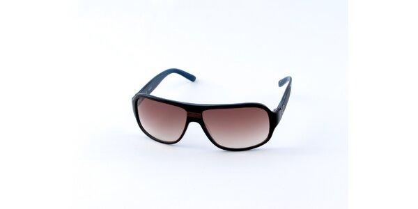 Pánské modro-černé sluneční brýle Guess