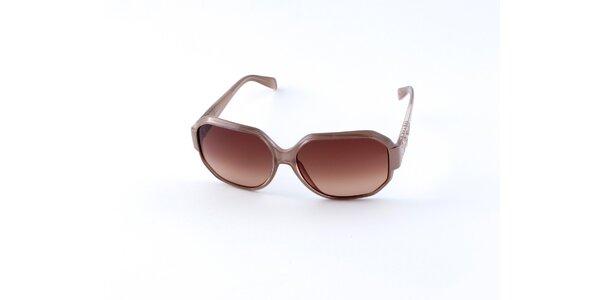 Dámské šedohnědé sluneční brýle Guess