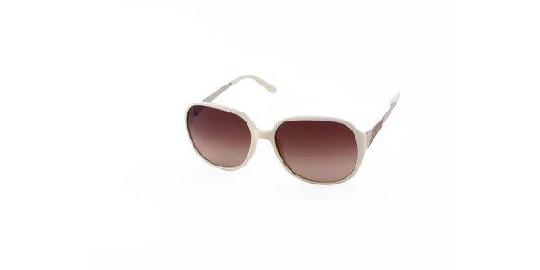 Dámské krémové sluneční brýle Guess