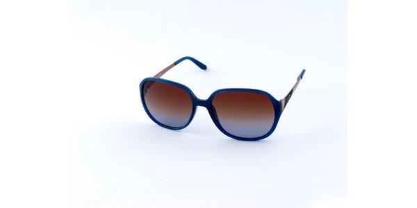 Dámské modré sluneční brýle Guess