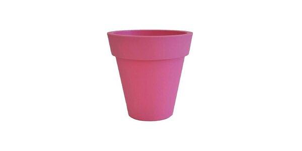 Plastový květináč Markus Pedriksen Samantha 45x45x45 cm růžový
