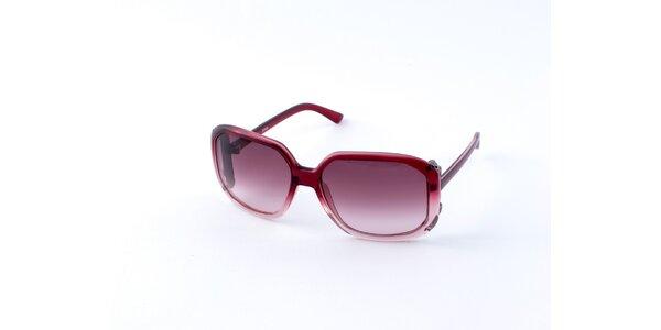 Dámské červené sluneční brýle Guess