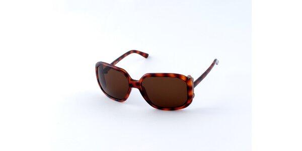 Dámské želvovinové sluneční brýle Guess