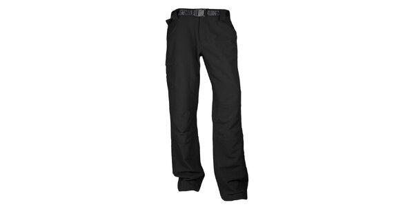 Pánské černé kalhoty do přírody Authority