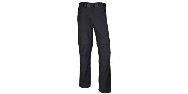 Pánské trekové antracitové kalhoty Authority