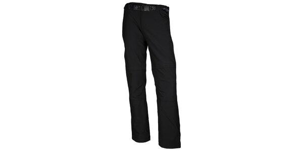 Pánské trekové černé kalhoty Authority